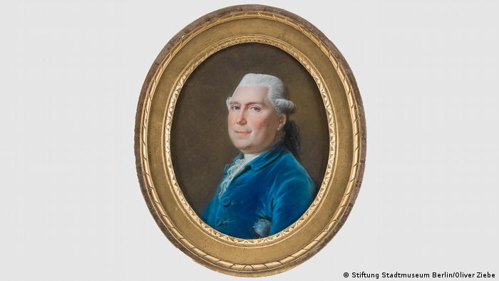 A portrait of Georg von Humboldt, Alexander's father, from 1775 by Johann Heinrich Schmidt. Today it is in the collection of Stadtmuseum Berlin