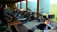 Participants take place in a shooting festival in Märwil, Switzerland.