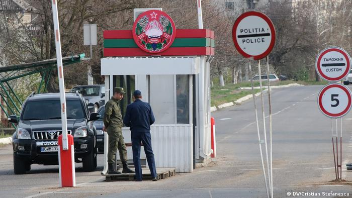Graniţa spre Transnistria (DW/Cristian Stefanescu)
