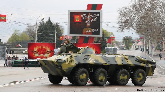 Tiraspol / Prezenţa militară (DW/Cristian Stefanescu)
