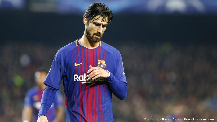 UEFA Champions League 2018   Andre Gomes, FC Barcelona