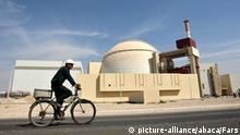 A picture shows the reactor building at the Russian-built Bushehr nuclear power plant in southern Iran, 1,200 km south of Tehran, Iran on October 28, 2010. Iran has began to unload fuel into the reactor core for the nuclear power plant on October 26, 2010, a move which brings the facility closer to generating electricity after decades of delay. Photo by Fars/ParsPix/ABACAPRESS.COM |