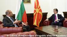 Nord-Mazedonien Amtseinführung des neuen Staatspräsidenten Stevo Pendarovski