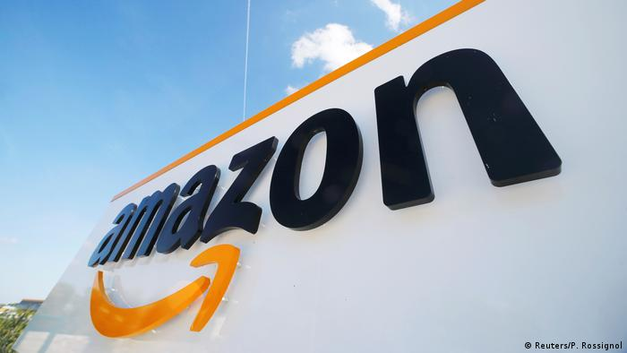 Amazon, internet retailer, logo