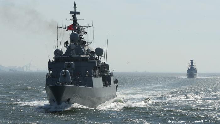 Türkei Marineübung Sea Wolf 2019 (picture-alliance/AA/T. T. Eroglu)