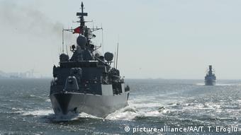 Από τουρκική στρατιωτική άσκηση στην Ανατολική Μεσόγειο