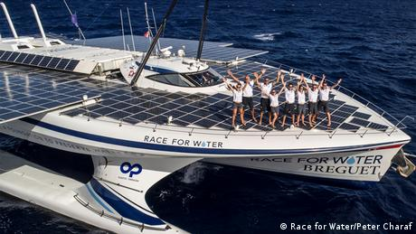 The Race for Water solar-powered yacht