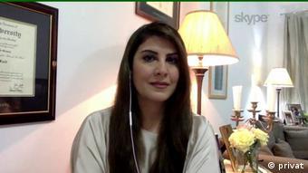 Amelia Entekhabi Fard, iranische Expertin für arabische Länder (privat)