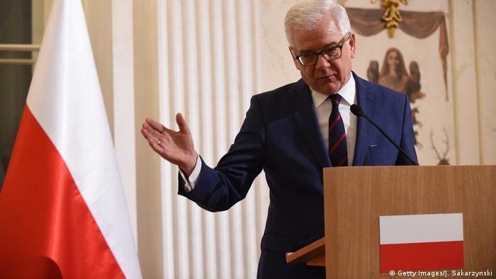 Polish FM Jacek Czaputowicz