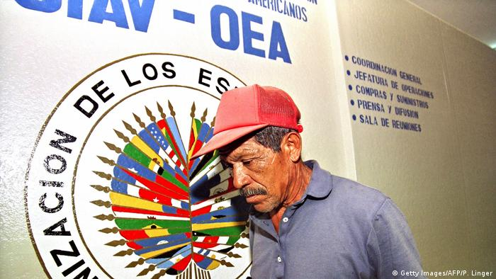 Symbolbild: Organization of American States, OAS (Getty Images/AFP/P. Linger)