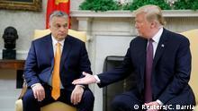 USA Ungarn Orban bei Trump im Weißen Haus