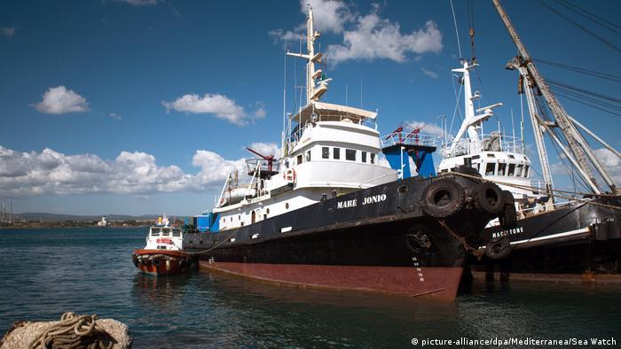 Es ist derzeit unklar, ob die Mare Jonio noch im Mittelmeer unterwegs ist