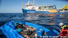 Seenotrettung Schiff