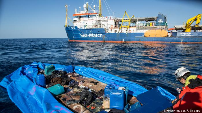 Seenotrettung Schiff (Getty Images/F. Scoppa)