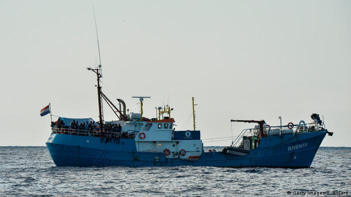 Gegen Besatzungsmitglieder der Iuventa wird in Italien ermittelt