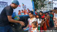Freies Iftar Mahl in Bangladesch Dhaka