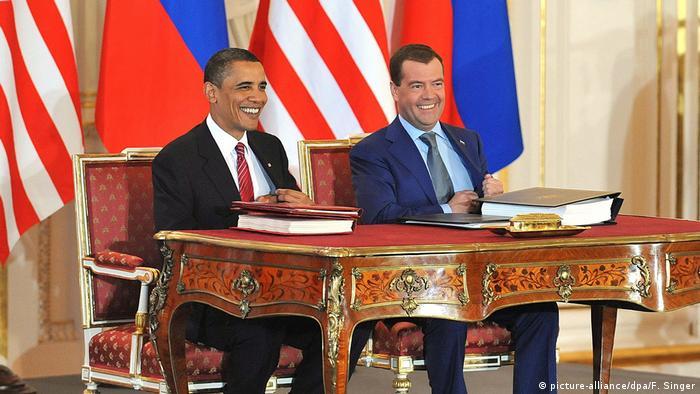 New START anlaşması, Obama ve Medvedev tarafından 2010'da imzalanmıştı.