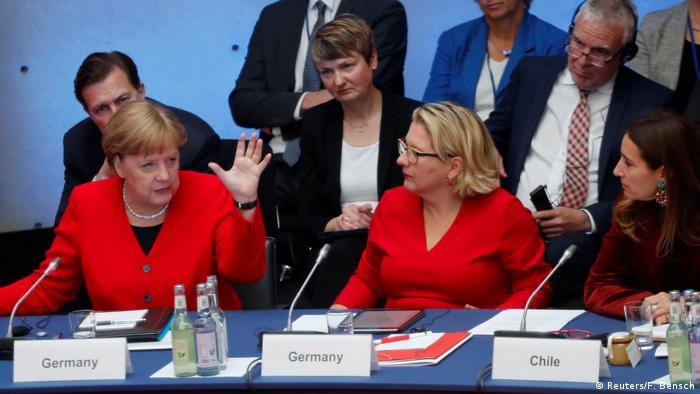 Deutschland 10. Petersberger Klimadialog - Angela Merkel (Reuters/F. Bensch)