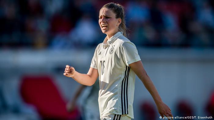 BG WM Kader der Frauen-Nationalmannschaft (picture-alliance/GES/T. Eisenhuth)