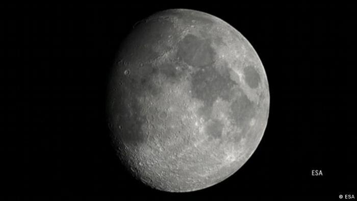 Satelitski snimak Mjeseca (ESA)