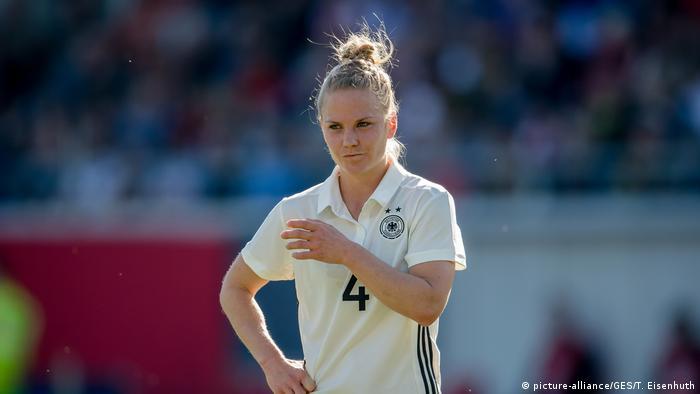 Fußball Deutschland Leonie Maier (picture-alliance/GES/T. Eisenhuth)