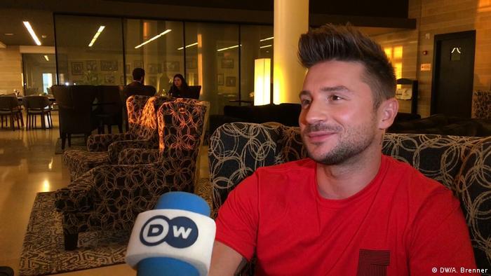 Сергей Лазарев: интервью DW на Евровидении-2019