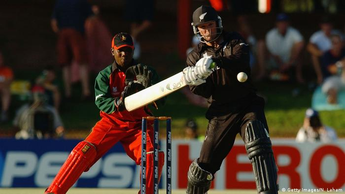 ICC Cricket World Cup 2003 | Nathan Astle, Neuseeland (Getty Images/N. Laham)