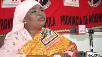 Mosambik Margarida Tala Frelimo Partei (DW/S. Lutxeque)