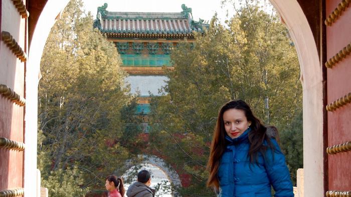Emina Popovic, kroatische Wirtschaftwissenschaftlerin in China