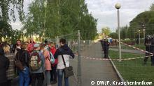 Russland Jekaterinburg | Protest gegen Kirchenbau im Theaterpark