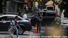 Venezuela   Sicherheitskräfte riegeln Parlament ab