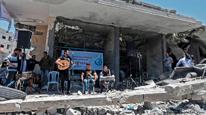 Eurovision Song Contest 2019   Protest in Gaza, Band Dawaween