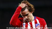Atletico de Madrid forward Antoine Griezmann (7) during the match FC Barcelona against Atletico de Madrid, for the round 31 of La Liga played at Camp Nou on 6th April 2019 in Barcelona, Spain. (Photo by Mikel Trigueros/Urbanandsport/NurPhoto) | Keine Weitergabe an Wiederverkäufer.