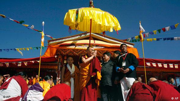 The Dalai Lama last visited Arunachal Pradesh in 2009