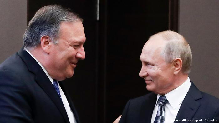 Russland Präsident Putin trifft US-Außenminister Pompeo (picture-alliance/dpa/P. Golovkin)