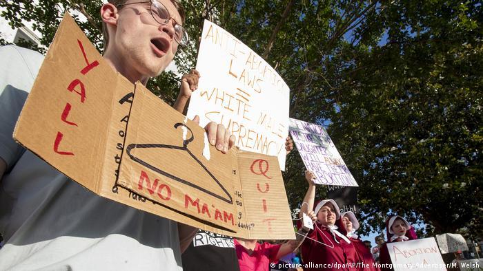 USA Senat von Alabama stimmt für fast vollständiges Abtreibungsverbot