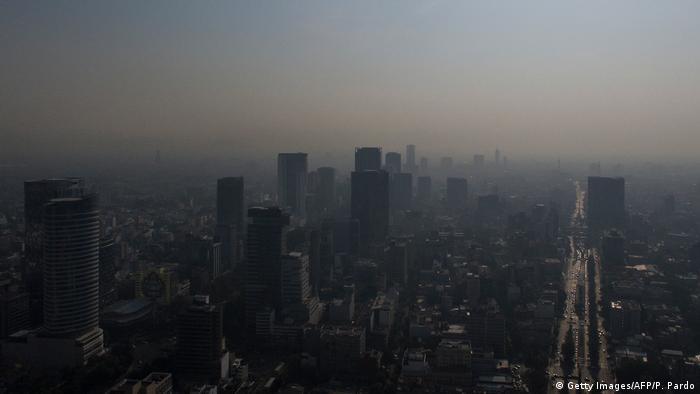 BdTD Mexiko Luftverschmutzung in Mexiko-Stadt