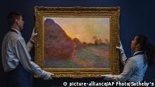 USA Versteigerung Monet-Gemälde bei Sotheby´s