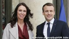 Jacinda Ardern und Emmanuel Macron