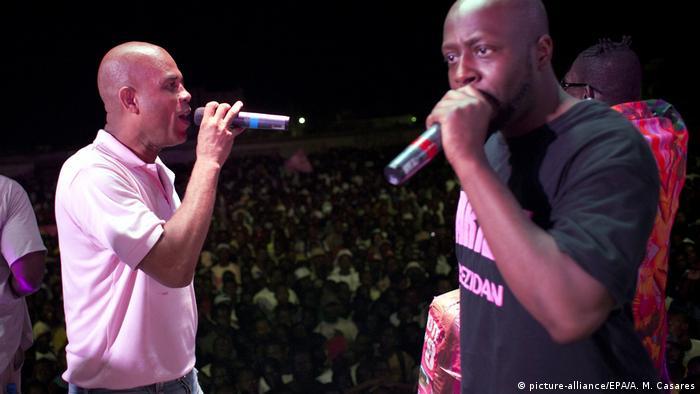 Haiti Michel Martelly und Wyclef Jean