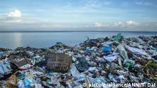 Vietnam Plastikmüll am Strand