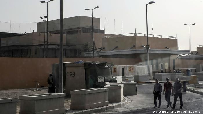 Irak Bagdad US Botschaft