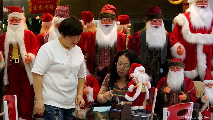 China Yiwu Großhandelsmarkt Verkaufsstände (Reuters/A. Song)