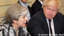 Brexit - Theresa May und Boris Johnson