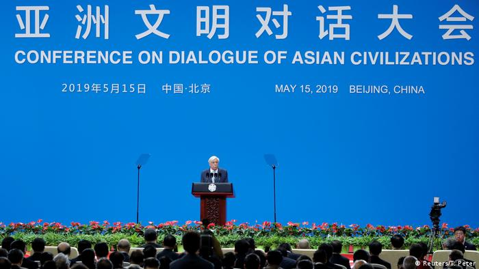 Beijing: Conference on Dialogue of Asian Civilizations - Griechenlands Präsident Prokopis Pavlopoulos (Reuters/T. Peter)
