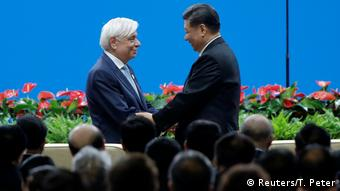 Beijing: Conference on Dialogue of Asian Civilizations - Prokopis Pavlopoulos und Xi Jinping (Reuters/T. Peter)