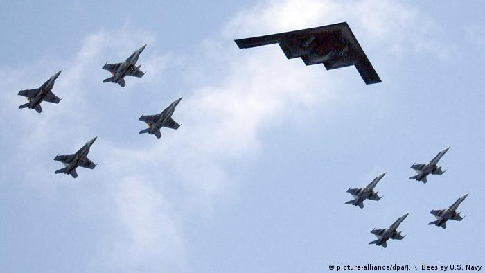 نیروی هوایی آمریکا در سال ۱۹۴۷ تاسیس شد و در حال حاضر بزرگترین نیروی هوایی جهان است. در این نیرو ۳۰۸ هزار نفر خدمت میکنند. در عین حال ۱۸۰ هزار و ۸۴ نفر کارمند غیر نظامی، ۷۱ هزار و ۴۰۰ نفر نیروی ذخیره و همچنین ۱۰۶ هزار نفر در گارد نیروی هوایی خدمت میکنند.