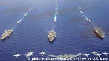 US-Manöver Valiant Shield 2006
