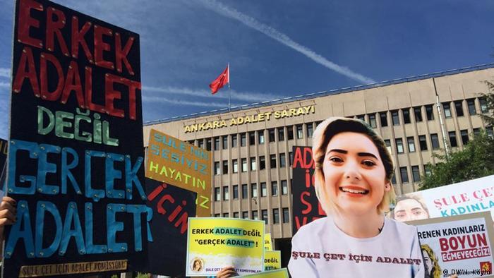 Proteste von Frauenorganisationen in Ankara (DW/H. Köylü)