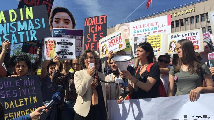 HDP Ankara milletvekili Filiz Kerestecioğlu da Şule Çet davasını takip eden politikacılardandı.